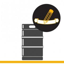 KEG Service: Banderolen aufkleben