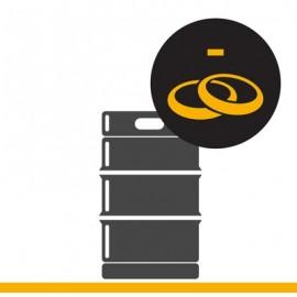 KEG Service: Farbring entfernen