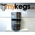 KEG / FASS DIN 50 Liter Edelstahl GEBRAUCHT