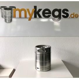 Schlank KEG/ FASS 10 Liter Edelstahl Gebraucht