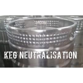 Neutralisation - Edelstahlkeg
